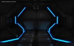 Porta do corredor