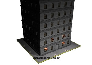 Este prédio foi todo montado com assets modulares