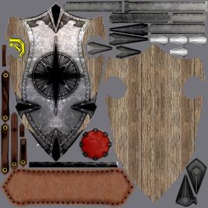 Textura do escudo